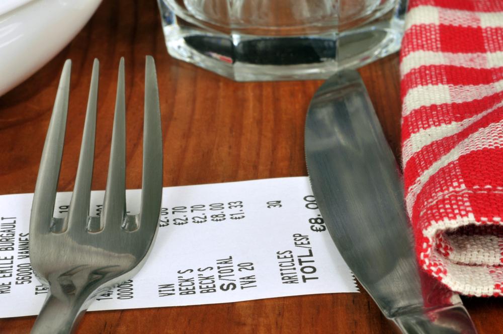 réduction restaurant